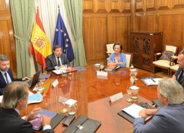 Planas y Fepex analizan los principales temas de interés del sector hortofrutícola