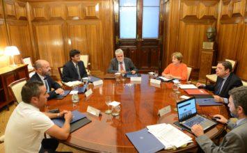 Luis Planas se reúne con la Federación Nacional de Cofradías de Pescadores