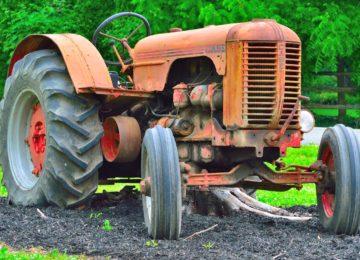 Desciende un 10% la venta de tractores en lo que va de año