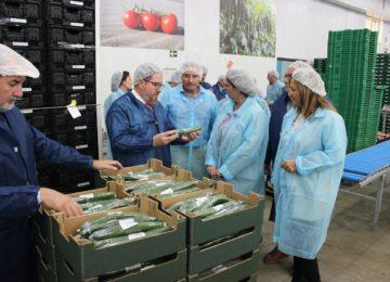 Sánchez reitera la ventaja de seguir apostando por la producción ecológica