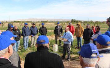 Una agricultura sostenible con el buen manejo del suelo y del agua
