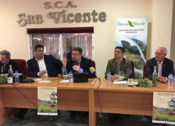 """Sánchez Haro anima a la producción ecológica de aceite de oliva como estrategia para """"crecer y aportar valor añadido"""""""