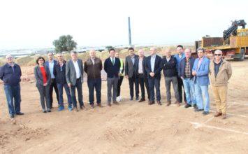 Arrancan las obras de la planta de Frutilados que estará en funcionamiento el próximo año
