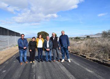 El Ayuntamiento de Níjar finaliza la adecuación del camino de Balsa Seca