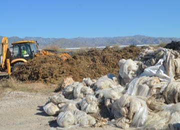El Ayuntamiento de Berja exige a la Junta de Andalucía que solucione el problema de recogida de residuos agrícolas