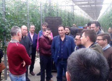 Coexphal muestra el modelo hortofrutícola de Almería a fruticultores de Extremadura