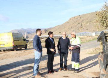 El Ejido avanza en la mejora y acondicionamiento de sus caminos rurales
