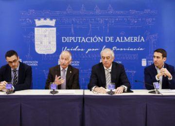 Diputación y Asempal impulsan la producción de agua desalada con energías renovables