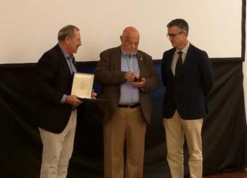 La certificadora Agrocolor homenajea a Jacinto Godoy, pionero de cooperativismo en Canarias