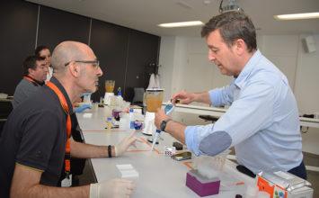 Citrosol forma a técnicos a pie de central en el uso del laboratorio Easy Kit®