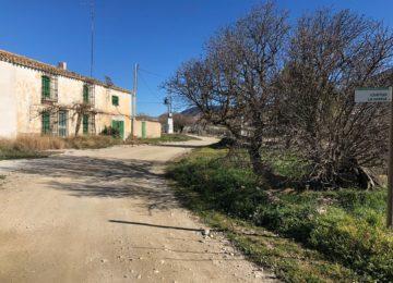 Diputación invierte 320.000 euros del Plan de Caminos en mejorar siete kilómetros de Los Vélez