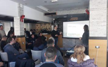 Técnicos de Vellsam ofrecen una charla sobre sustancias activas y efectos en cultivo en Serbia