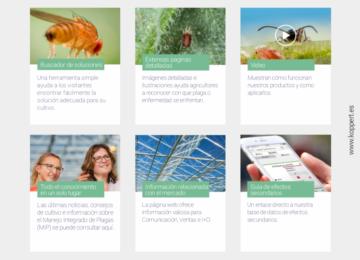 La nueva web de Koppert España revela los efectos de los plaguicidas en los enemigos naturales