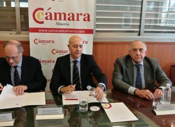 Cámara de Comercio y Fundación Ramao trabajarán para situar a Almería como puerta de la Dieta Mediterránea