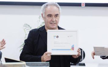 """Ferran Adrià respalda Almería 2019 y propone """"la creación de un centro mundial de formación alrededor de las frutas y hortalizas"""""""