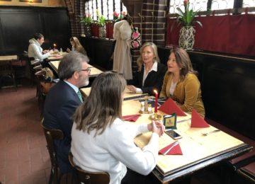 Crespo analiza con el embajador de España en Alemania el futuro de las exportaciones andaluzas al país germano