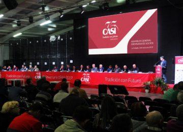 CASI aprueba sus cuentas anuales mirando al futuro en su 75 aniversario