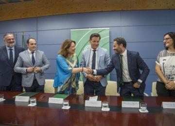 La ampliación de la EDAR Oeste-Los Vados será una realidad en 2022 tras la firma del contrato de obra