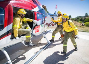 Convocada tras dos años la Oferta de Empleo Público de 120 plazas de bombero para el dispositivo Infoca