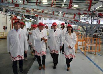 El ministro de Agricultura visita la cooperativa La Palma