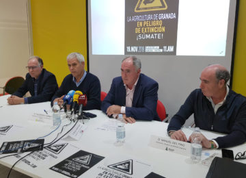 Gran manifestación convocada mañana en Motril por la situación crítica del sector hortofrutícola
