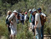 Miembros del Grupo Bellota en una de sus salidas al campo