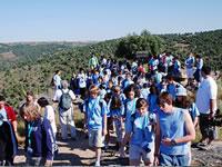 Los participante en la Ruta Iberica, 2008 en una de las rutas
