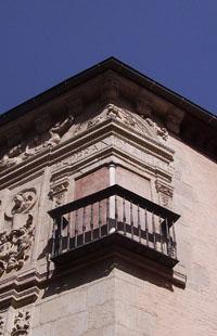 Detalle de la Casa de Castril