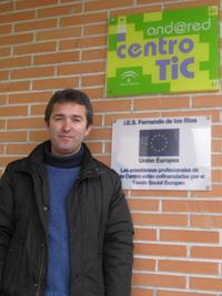 José Emilio Padilla, coordinador TIC del IES Fernando de los Ríos, Fuentevaqueros