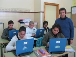 Jose Emilio lleva 4 años como coordinador del proyecto TIC de centro