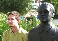 Pablo Cecilio en la Avda. de la Constitución de Granada