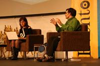 Tíscar participa en numerosos foros de formación del profesorado y periodistas