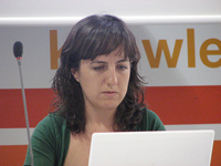 Tíscar Lara, especialista en software libre y mobile learning