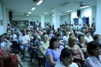 Público asistente a la presentación del libro realizada en el Centro Cultural García Lorca