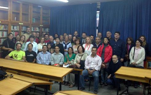 Coordinadores y participantes del IES H. Lanz