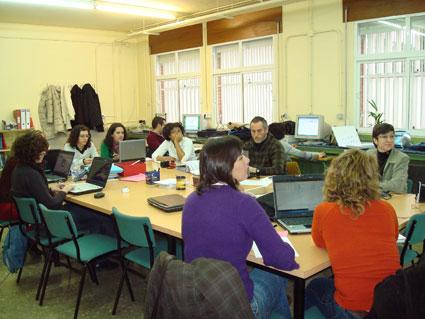 En una de los cursos de la EOI de Granada