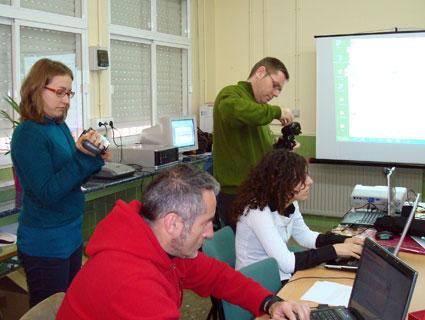 Juan Manuel Criado en una de las clases de la EOI