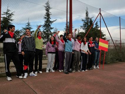 Los estudiantes se divirtieron y familiarizaron con las salidas de la CAFD