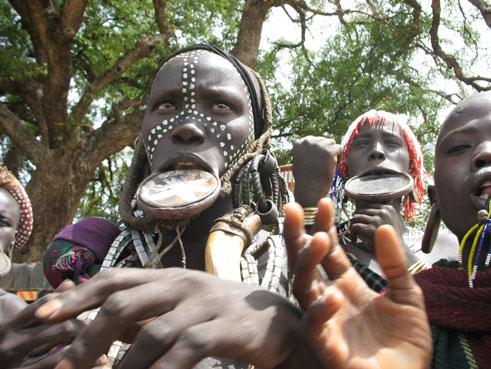 José A. ha profundizado en el conocimiento de los pueblos de África/ Foto el autor
