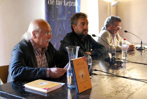 Javier Botrán, José A. Sánchez Tarifa y Pedro Molino