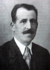 El médico goreño, Juan Gómez Porcel, asesinado el 23 de septiembre de 1936 (Foto cedida al autor por su hija, Angustias Gómez)