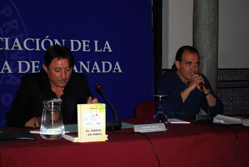 Antonio Marín durante su intervención
