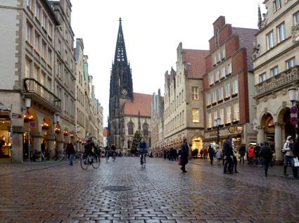 Centro de Münster (Alemania)