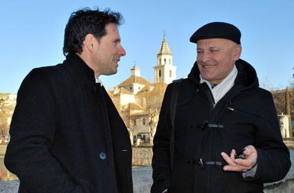Francisco Álvarez y Algis Zaboras, los directores de los coros participantes