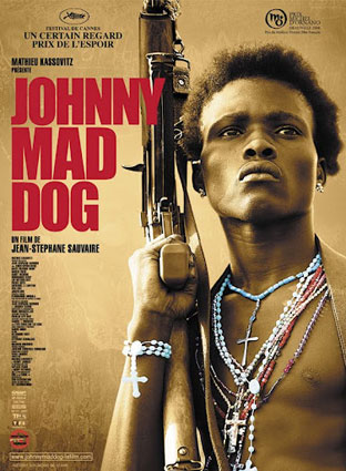 Cartel de la versión cinematográfica de Johnny Mad Dog