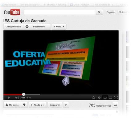 En el vídeo se muestra la oferta formativa y participación de este centro en programas y proyectos educativos