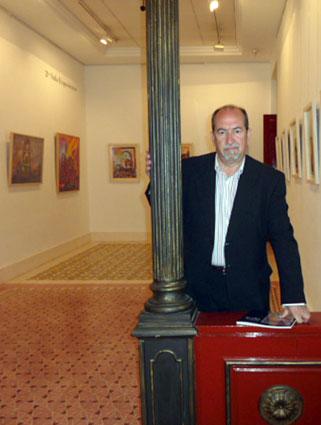 La exposición de Manuel Ruiz (en la imagen) se podrá visitar hasta el 14 de abril