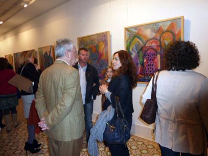 Última exposición de Manuel Ruiz en Motril (Granada)