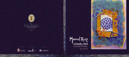 Contraportada y portada del catálogo de la exposición