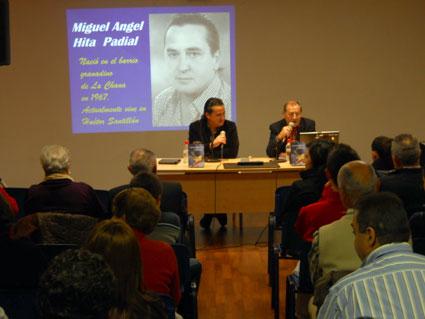 Miguel Ángel Hita y Pacurri, director de la sala durante la prensentación de Sumérgete en mi sueño